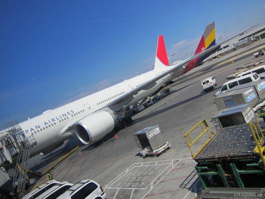 ロサンゼルス線JALビジネスクラス