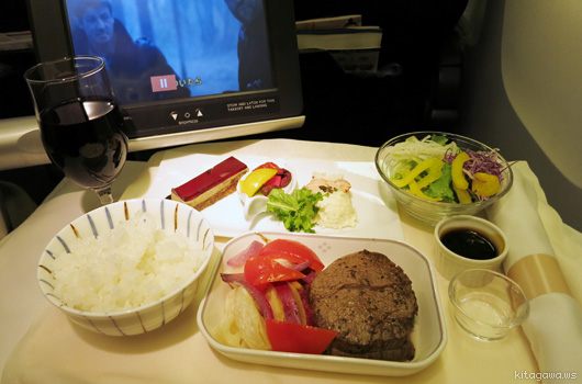 日本航空JALビジネスクラス