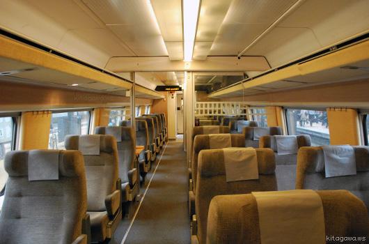 SJ高速鉄道X2000 (デンマーク→...