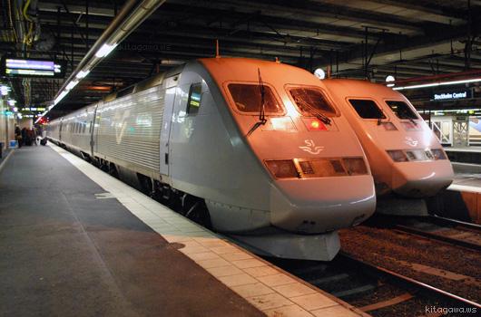 国際列車 SJ2000 予約