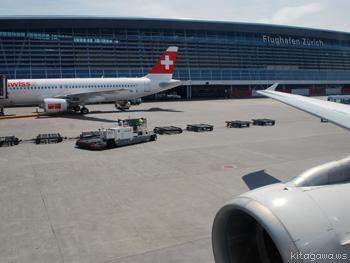 スイス航空ビジネスクラス