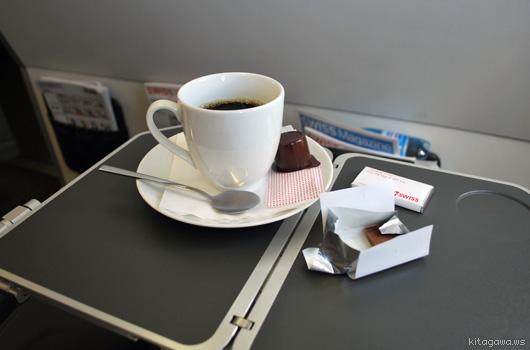 スイスインターナショナルエアラインズ機内食