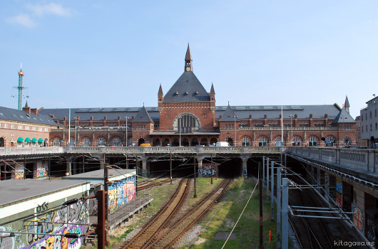 コペンハーゲン中央駅