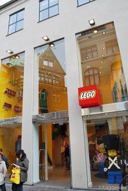デンマークのレゴショップ