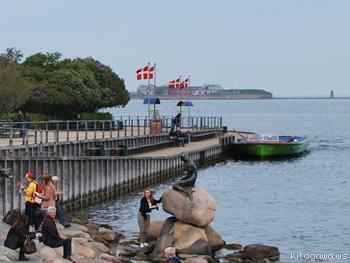 コペンハーゲン 人魚姫の像