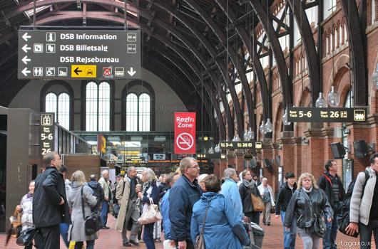 コペンハーゲン中央駅 København H