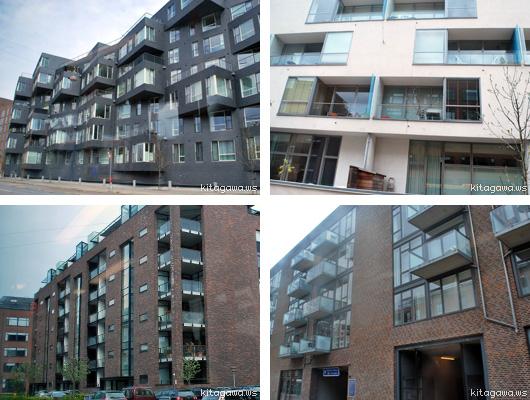 デンマーク集合住宅デザイン