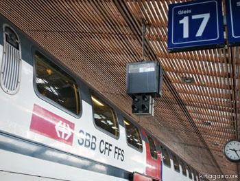 スイス鉄道の旅