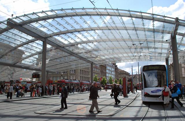 ベルン バーンホーフプラッツ Bern Bahnhofplatz