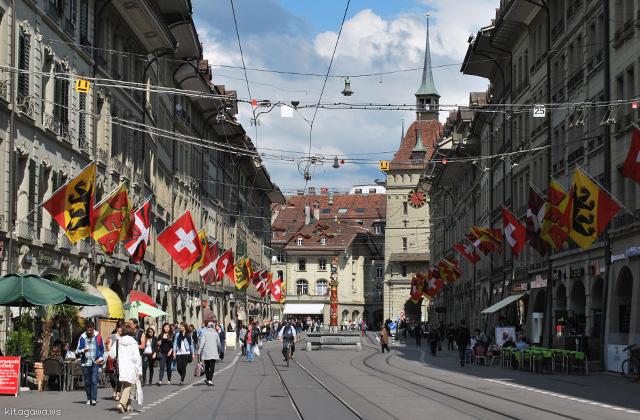 スイス旅行記 世界遺産ベルン旧市街の見所