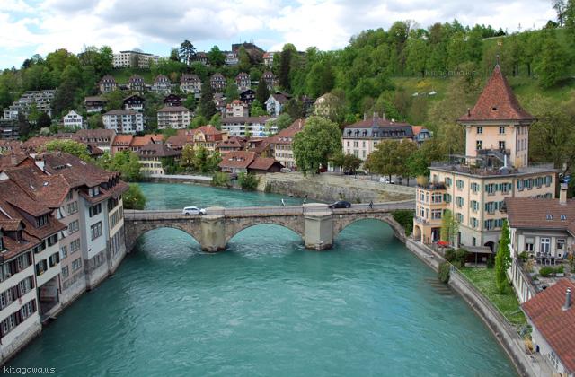 スイス ベルン アーレ川