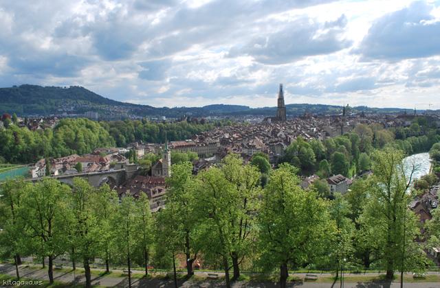 スイス旅行記 ベルンの街並み