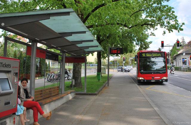 ベルン市内交通 バス