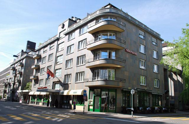 シェラトン チューリッヒ ノイエスシュロス ホテル