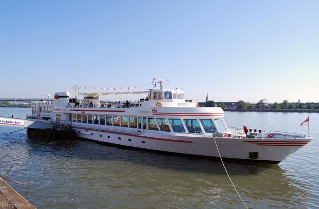 ライン川の観光船