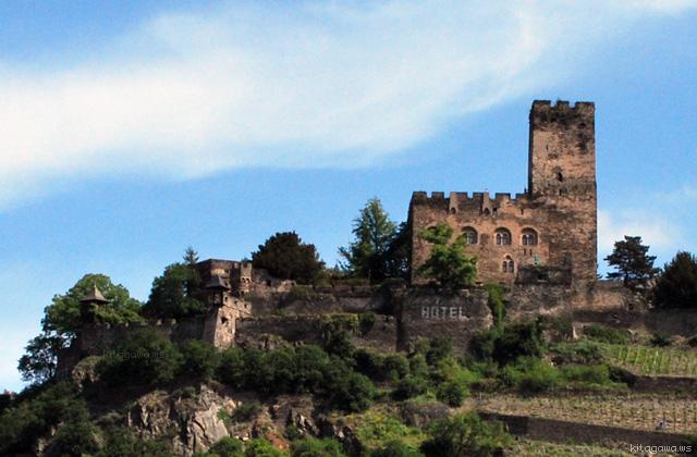 グーテンフェルス城 Burg Gutenfels