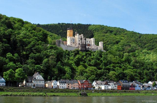 ドイツ旅行 KDライン観光船 城巡り写真