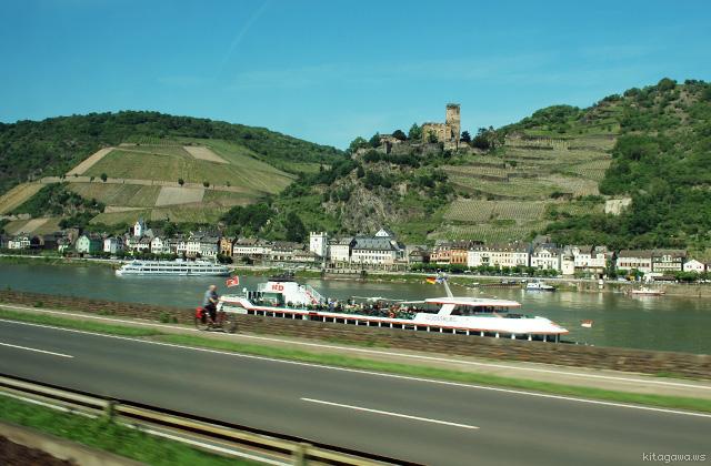 ドイツ旅行 ライン川 城巡り