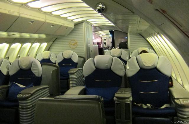 ルフトハンザ航空ファーストクラス
