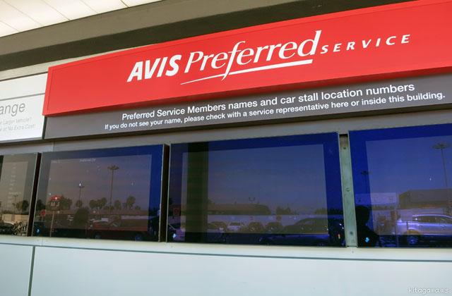 AVIS Preferred メンバーカード