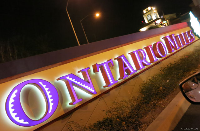 オンタリオミルズ Ontario Mills