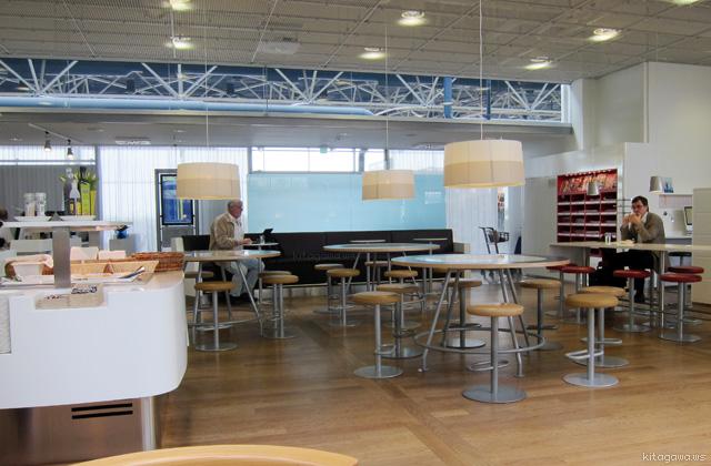 ヘルシンキ空港スカンジナビア航空SASビジネスクラスラウンジ