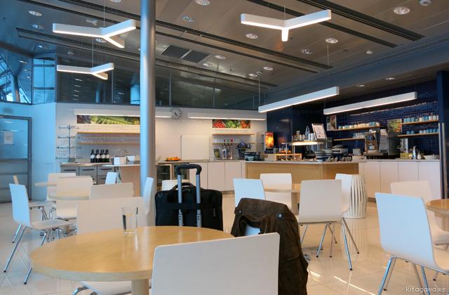 ヘルシンキ空港フィンランド航空ビジネスクラスラウンジ