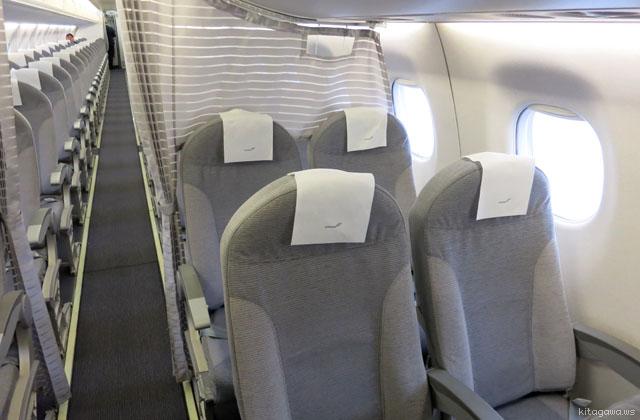 フィンランド航空ヨーロッパ近距離ビジネスクラス