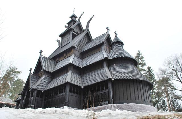 木造教会 スターブヒルケ Stavkirke