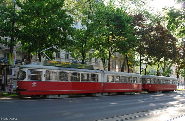 ウィーン旧型トラム