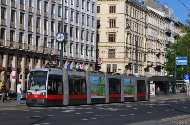 ウィーン新型トラム