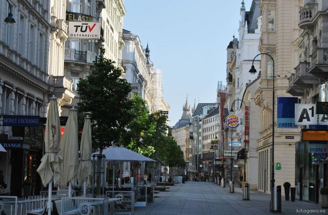 オーストリア旅行記 ウィーン市内観光