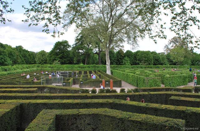 シェーンブルン宮殿の迷路庭園Laberinto