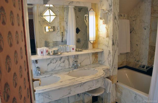 ブリストルホテルウィーン バスルーム