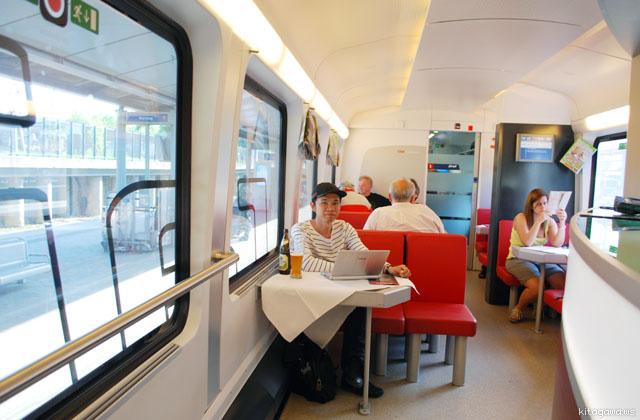 ヨーロッパ鉄道旅行記