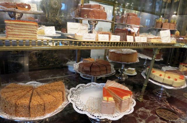 デメルのケーキ