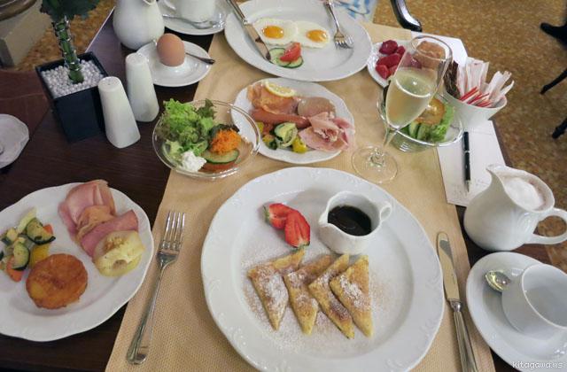 ホテル ブリストルウィーン 朝食