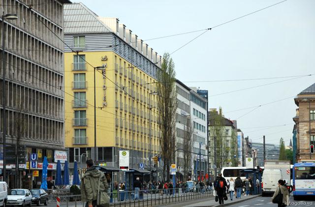 ルメリディアン・ミュンヘン Le Méridien Munich