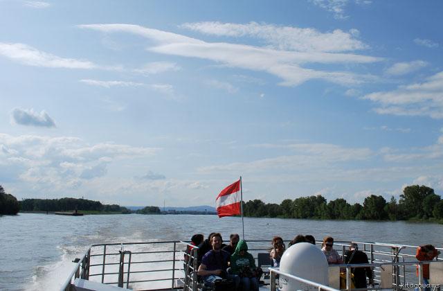 ウィーンからブラチスラヴァ 船