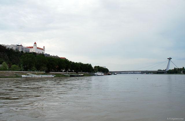 ブラチスラヴァからウィーンへの船