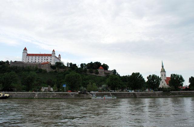 ブラチスラヴァ城と聖マルティン大聖堂