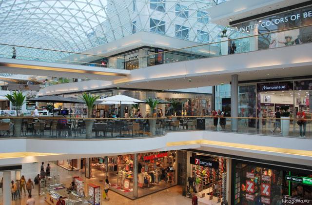 Eurovea Galleria ショッピングモール