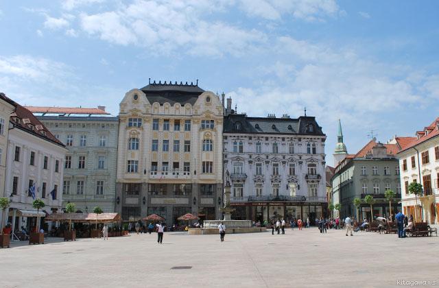 スロヴァキア旅行記 ブラチスラヴァ市内観光
