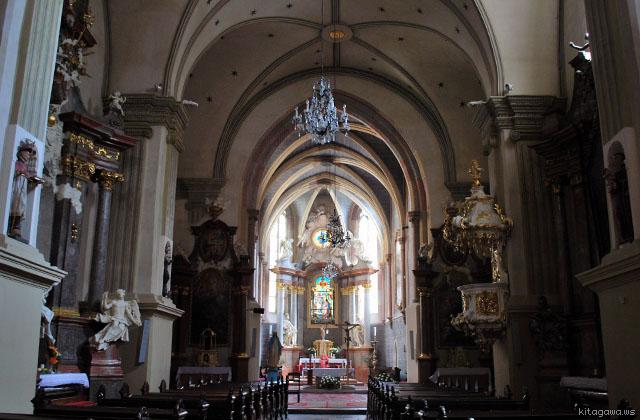 聖フランシスコ教会 Františkánsky kostol