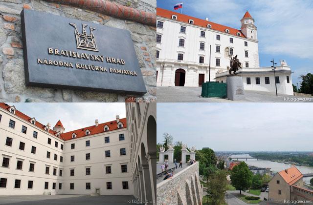スロヴァキア ブラチスラヴァ城