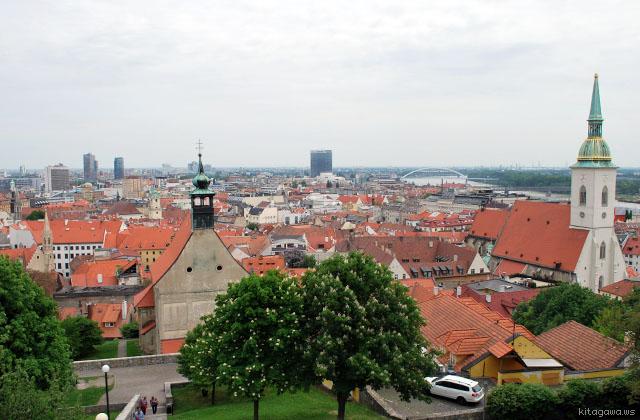 スロバキア旅行記 ブラチスラバ観光