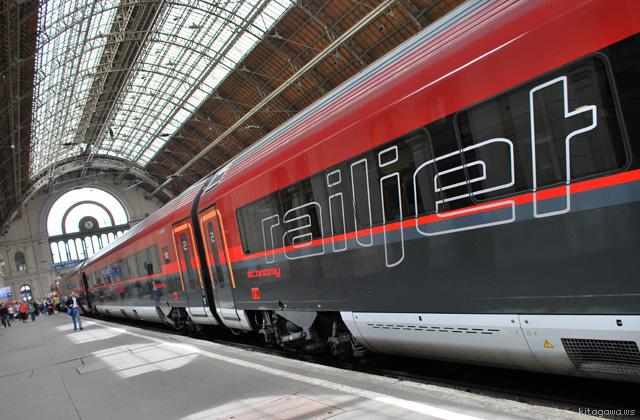 RailJet レールジェット