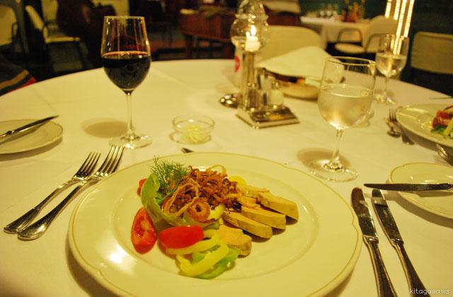 ブダペスト フォアグラ レストラン