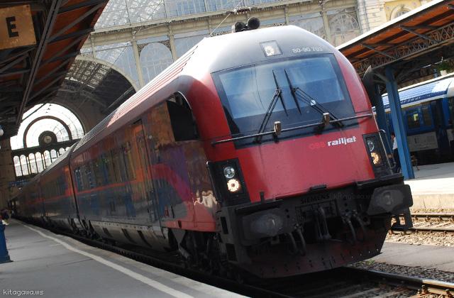 ブダペスト ウィーン ミュンヘン 鉄道