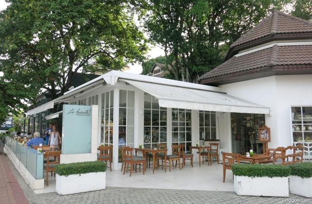 パタヤのカフェ La Baguette ラ・バゲット